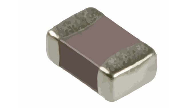 Picture of 1658 - CAPACITOR CHIP SMD 0805 X7R