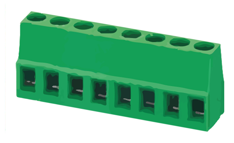 Immagine di 8308 - TBLOCK PCB D128 P5,0MM