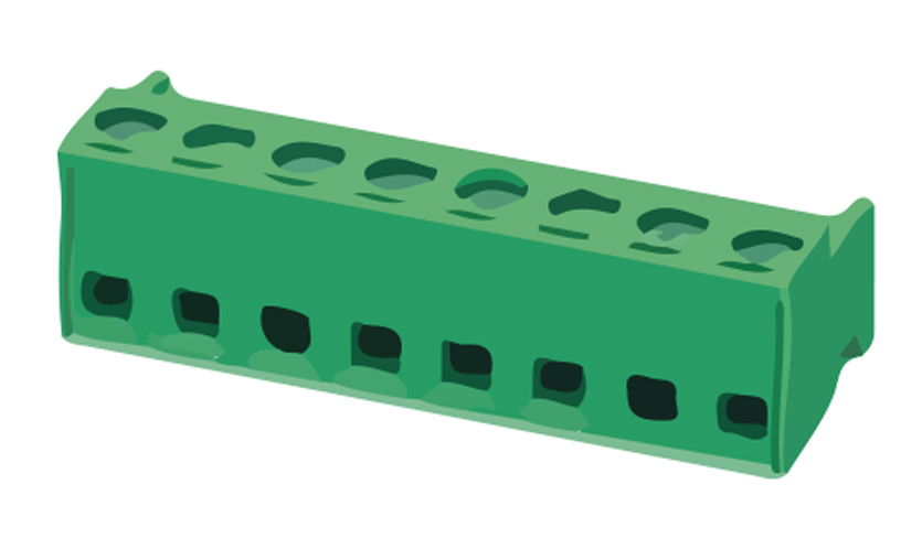Picture of 8338 - TBLOCK PCB D332W P5,0MM